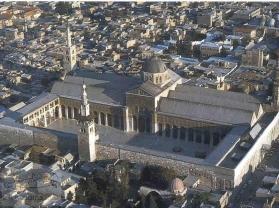 Al amawi Masjid منظر جوي للجامع الأموي دمشق