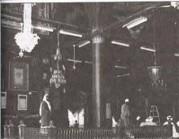 دكة الأغوات خلف الحجرة الشريفة
