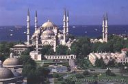 The Masjid of Ah^mad the third in Istanbul سجد أحمد الثالث في إسطنبول