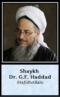 shaik Dr GF Haddad