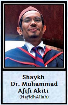 shaik Dr Muhammed Afifi Akiti