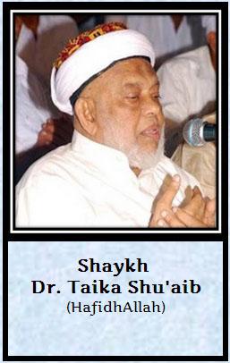 shaik Dr. Taika Shuhib
