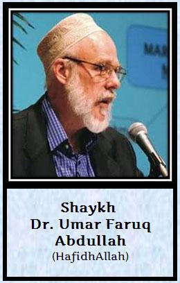 shaik Dr Umar Faruq Abdullah