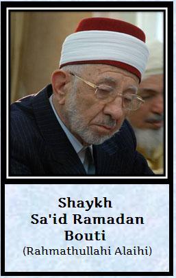 shaik Said Ramadan Bouti