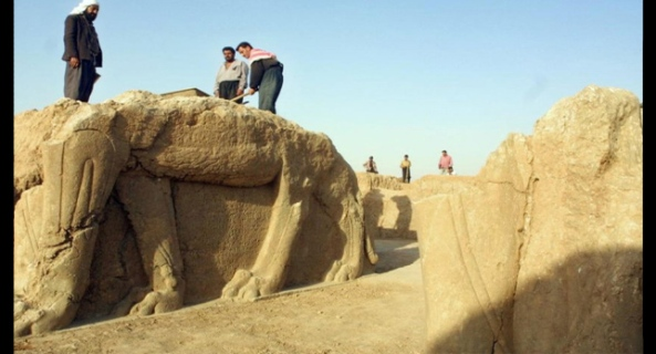 IRAQ-ARCHEOLOGY-CONFLICT-JIHADIST-FILES